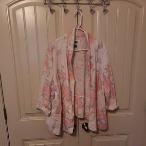 Old Navy floral blazer